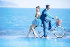 海景系列「韩系风尚」三亚·时光海婚纱摄影