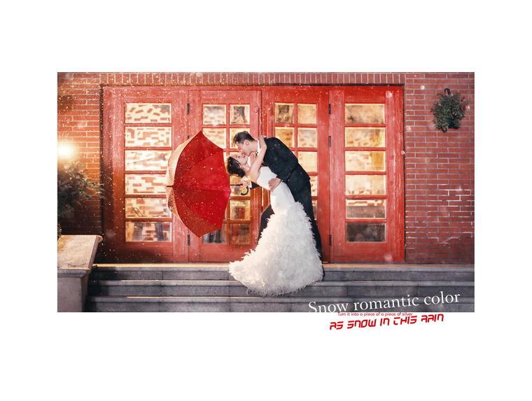 【赫拉宫邸】寒冬热恋婚纱照,全程一对一服务,无隐性消费