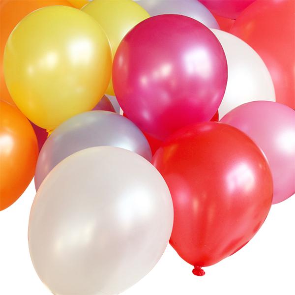 结婚庆用品创意珠光气球婚礼生日求爱婚房装饰圆形气球加厚12寸