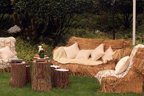 秘密花园——农村户外庭院高端婚礼