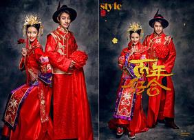 中式风格婚纱照欣赏 / 幸福影社