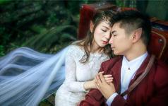 【菲心客片】爆款婚纱--浪漫森林