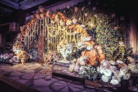 《迷失森林》巴洛克风格森系主题婚礼