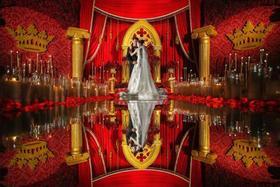 Sugar苏格|《可可女皇大婚》红色复古婚礼