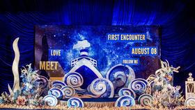 《梦开始的地方》深蓝色海洋风格主题婚礼