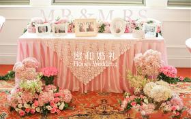 【婚礼鲜花布置案例赏析】—— Mr&Mrs