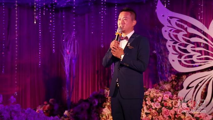 西安室内婚礼-主持who银虎