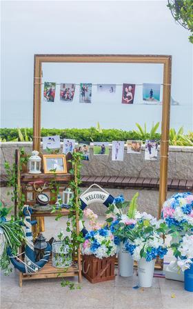 创意海洋风婚礼【永恒印记婚礼美学】荏苒如初