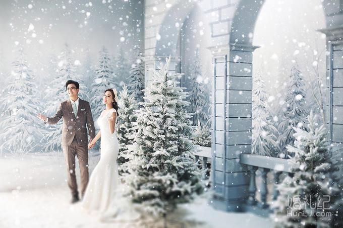 【圣诞之月特惠套餐】5服5造外滩夜双外景+内景