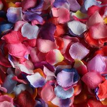 仿真玫瑰花瓣 婚房布置 求婚表白装饰结婚撒花婚礼 撒花 婚庆