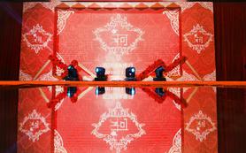 【婚礼匠】红色欧式复古创意婚礼,适用于酒店含大屏
