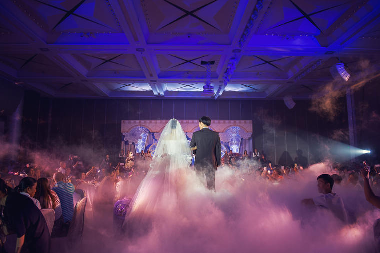 紫色欧式大气主题婚礼--J&W