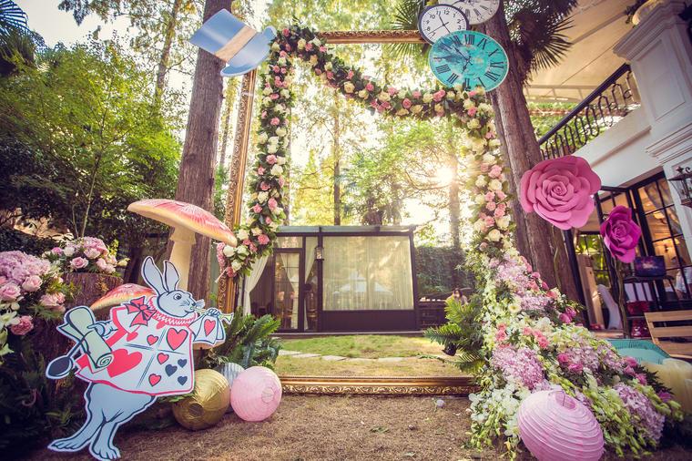创意气球婚礼布置【喜堂婚礼策划】和平官邸