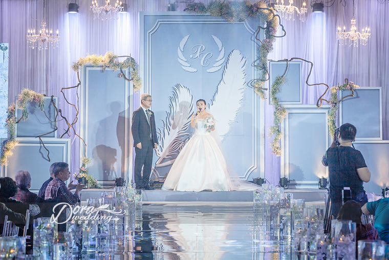 【创意浪漫婚礼】送你一对羽毛笔,书写你们的爱情
