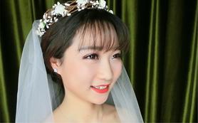 AM婚纱造型画馆新娘造型  造型师