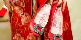 10款平底婚鞋 不输大牌