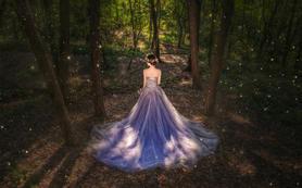 【蓝朵摄影】全国首创暗系森林婚纱照