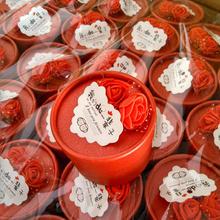加厚喜糖盒欧式圆筒喜糖盒子婚庆喜糖盒糖果盒结婚糖盒批发