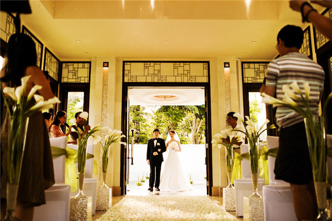 海外婚礼 巴厘岛 云之教堂婚礼