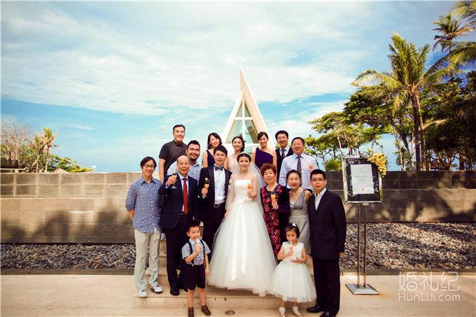 海外婚礼 巴厘岛 港丽教堂婚礼