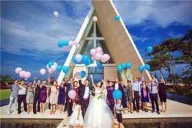 海外婚礼 巴厘岛 港丽教堂简约婚礼