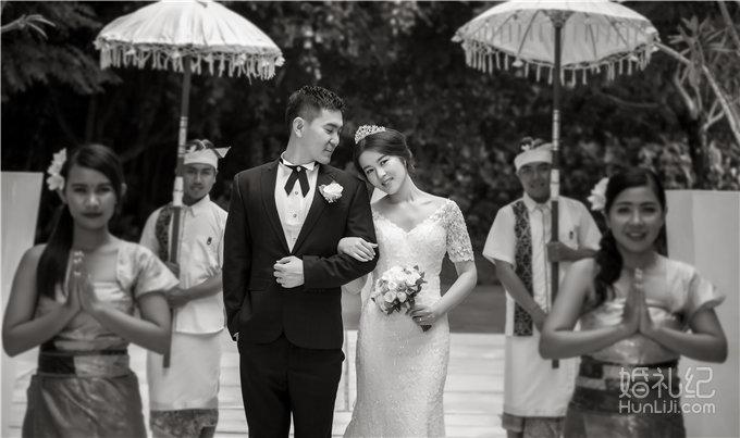 巴厘岛 悦榕庄 白鸽教堂婚礼