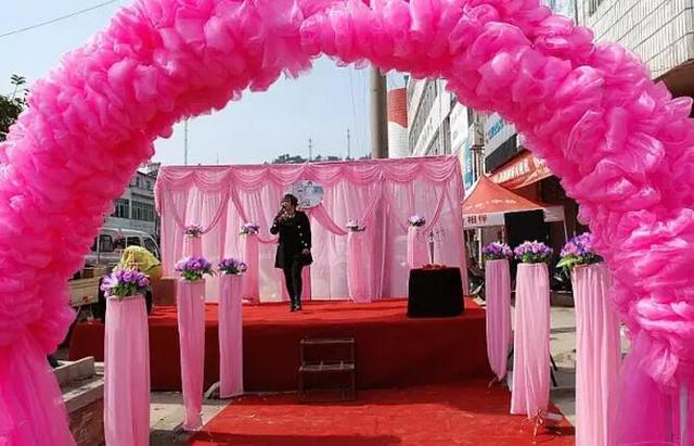 农村婚礼如何布置不俗套又大气?图片