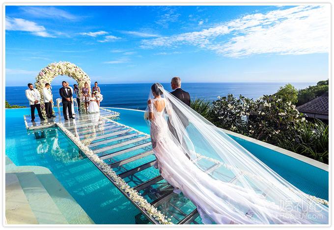 coco海外婚礼 巴厘岛 卡玛坎德拉水上婚礼