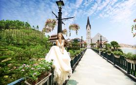 [完美新娘] 欧式街取景/原生态湖光山色/教堂