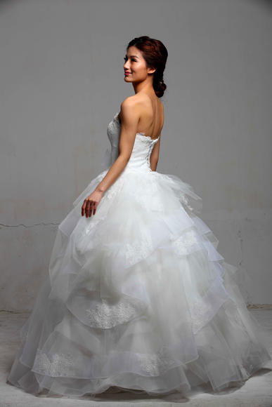 「ROYAL WANG」•清新美背案例欣赏 唯美婚纱