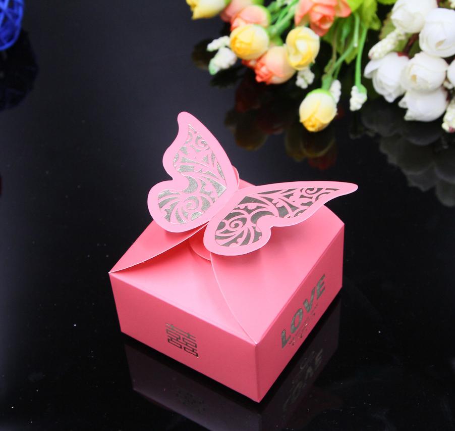 定制结婚用品创意婚礼糖果盒婚庆甜蜜蜜喜糖盒个性喜糖盒子65