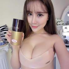 韩式大码防水透气胸贴硅胶隐形文胸隐形bra超聚拢胸贴