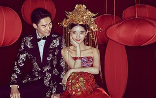 【龙禧】系列婚纱照  经典中国红