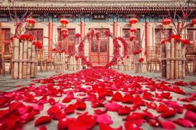 【兰亭定制】中式婚礼也可以很洋气