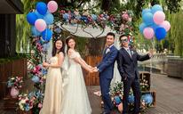 茉莉餐厅 气球婚礼布置【执子之手 | 与子华年】