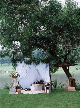 白绿时光记忆 摄影师的草坪婚礼