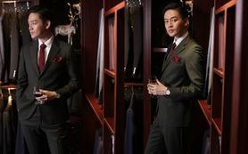 【MSY男士】时尚商务西服套装
