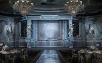 欧式婚礼布置【艾卉婚礼馆】银灰色的梦