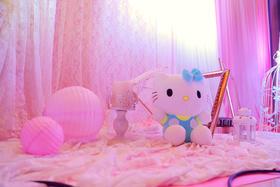 品上创意《公主嫁日》打造粉色梦婚礼