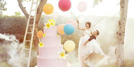 陈紫函婚纱照定义雾面感 比传统韩式仙出几条街!