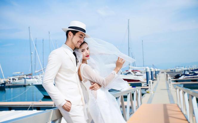 一价全包婚纱照+送3天2晚酒店+免费接机+帆船港