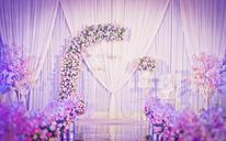 [婚礼鲜花布置]起点是你 终点也是你
