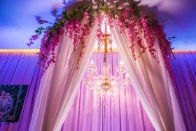 婚礼鲜花布置【佳合婚典】愿有岁月可回首,且以深情共白头