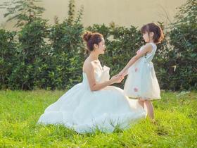 【帝安娜婚纱】薄纱天使小拖婚纱