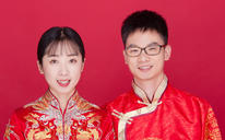 玖玥堂最美结婚证件照(含化妆·服装·拍摄·精修)