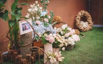 空中花园|露台韩式清新婚礼|雅乐轩酒店露台婚礼