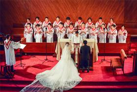 【婚礼跟拍】作为基督教徒,你应该虔诚