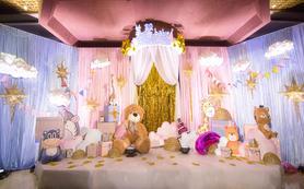 【八一宾馆】精致卡通童话风宝宝宴