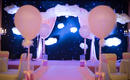 【嫁给幸福】星空风格--星空幕布+粉色色系