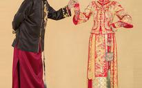 朱孝天韩雯雯同款秀禾服中式敬酒服新娘礼服嫁衣旗袍龙凤褂秀和服
